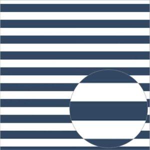 """Ацетатный лист в полоску """"Admiral -синий"""" от Bazzill"""