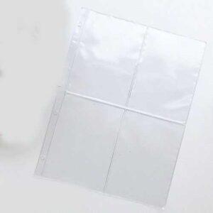 Файл А4 для кольцевых папок 4 кармана