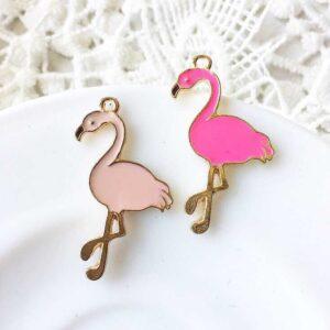 Фламинго светло-розовый