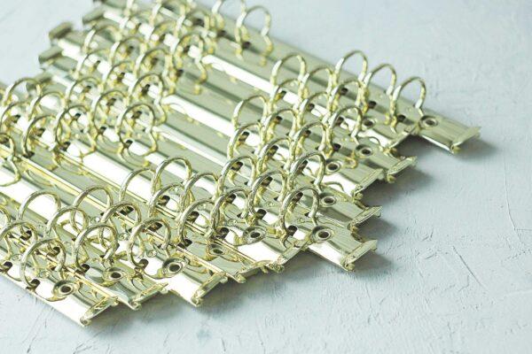 Кольцевой механизм А6 (17 см) - золото- с креплениями