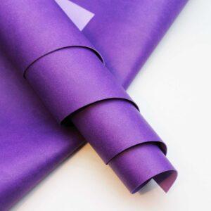 """Кожзам """"Фиолетовый"""" матовый 33*70 см"""