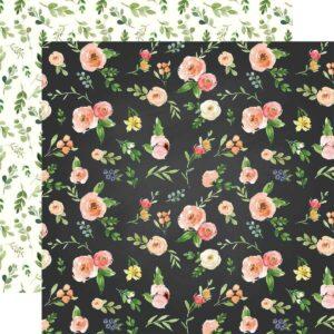 "Лист бумаги ""Market floral"" от Carta Bella"