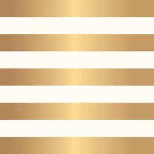 "Лист кардстока "" JH DIY HOME - STRIPE GOLD FOIL SPECIALTY PAPER-полоска"" от JEN HADFIELD"