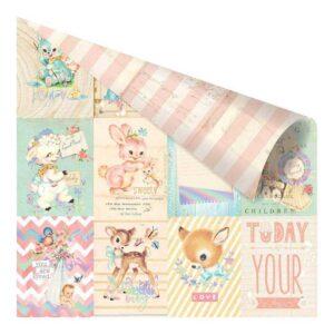 "Лист карточки Heaven Sent 2 ""Welcome Baby"" от Prima Marketing"