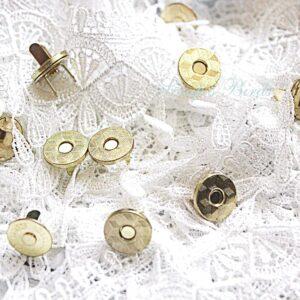 """Магнитная кнопка """"Золото"""" 10 мм"""