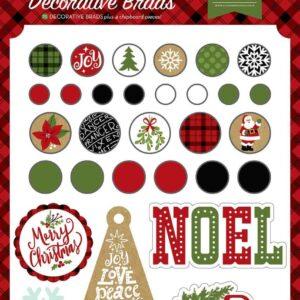 Набор брадс коллекции «Celebrate Christmas » от Echo Park
