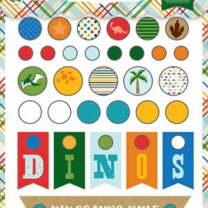 Набор брадс коллекции « Dino Friends » от Echo Park