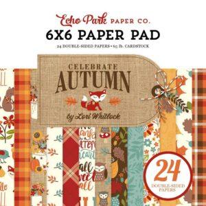 """Набор бумаги 15*15 """"Celebrate Autumn """" от Echo Park"""