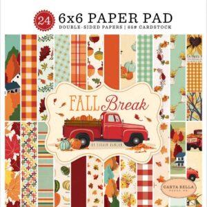 "Набор бумаги 15*15 ""Fall Break"" от Carta Bella"