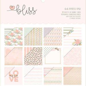 """Набор бумаги """"Bliss"""" от  My Mind's Eye"""