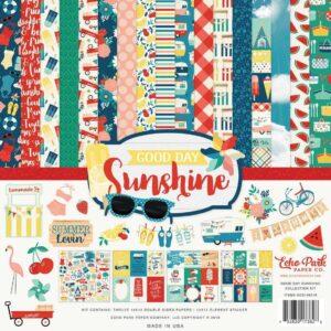 "Набор бумаги коллекции ""Good Day Sunshine"" от Echo Park"