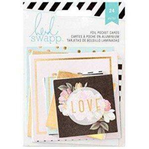 "Набор карточек ""Memory Planner Pocket Cards "" от Heidi Swapp"