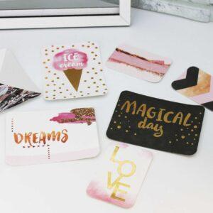 Набор карточек с фольгированием Magical day