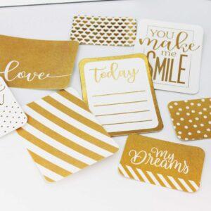 Набор карточек с фольгированием My dreams