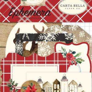"""Набор высечек """" Christmas"""" от Carta Bella"""
