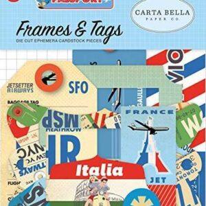 """Набор высечек """"Passport """" от Carta Bella"""