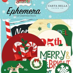 """Набор высечек """"Santa werkshop"""" от Carta Bella"""