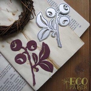 Нож для вырубки Черника от  EcoPaper
