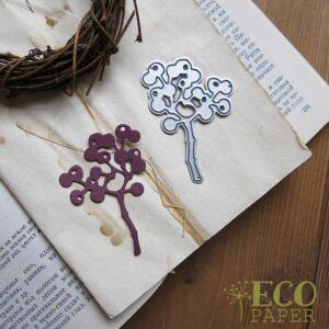 Нож для вырубки Виноград от EcoPaper