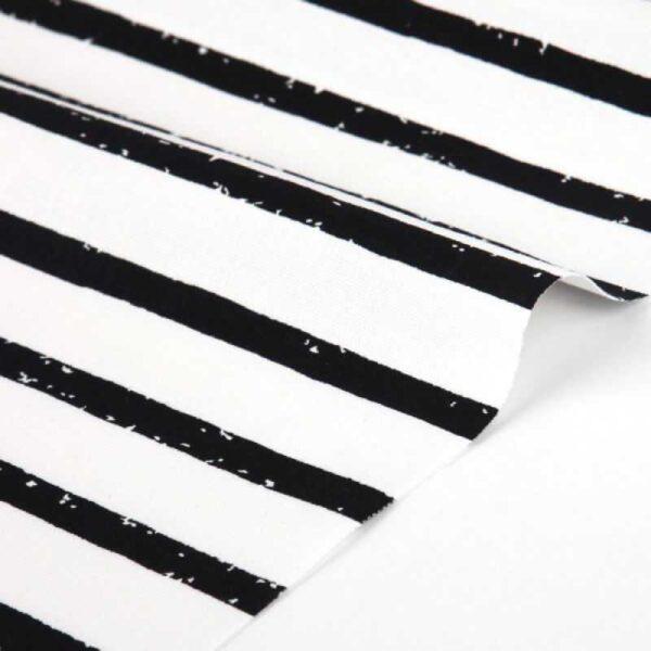 "Ткань 75*45 ""55 Anemone Fog line"" чено белые полоски от Dailylike"