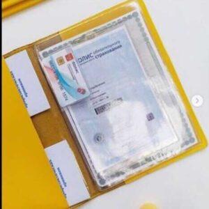 Вкладыш А4 на 1 комплект документов (ДОКУМЕНТЫ СТАРОГО ОБРАЗЦА)