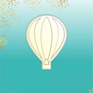 """Заготовка для тиснения """"Воздушный шар"""""""